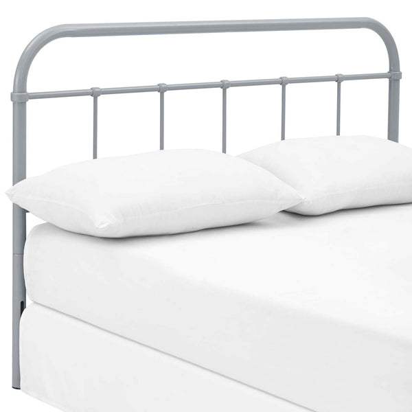 Serena Full Steel Headboard Gray