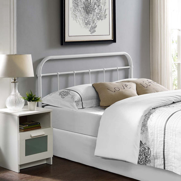 Headboards - Modway MOD-5536-BRN Serena Queen Cottage Style Steel Headboard | 889654082521 | Only $81.80. Buy today at http://www.contemporaryfurniturewarehouse.com