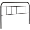 Serena Queen Cottage Style Steel Headboard