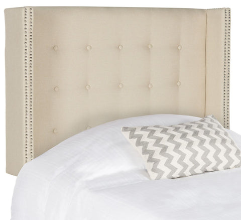 Keegan Linen Headboard Twin