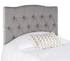 Headboards - Safavieh MCR4028C Axel Arctic Grey Tufted Headboard Twin | 683726672371 | Only $194.80. Buy today at http://www.contemporaryfurniturewarehouse.com
