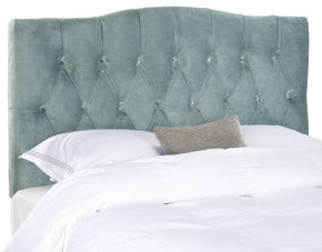 Axel Wedgewood Blue Tufted Headboard King