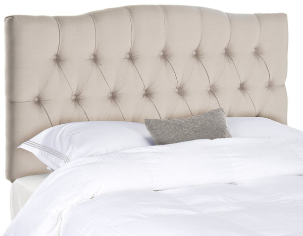 Axel Taupe Tufted Headboard King