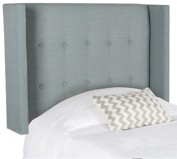Damon Sky Blue Winged Headboard Twin