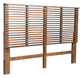 Linea Headboard Queen Walnut