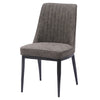 Walker PU Leather Chair (Set of 2) Kalahari Gray