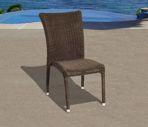 Bari Side Chair Set 4 Pcs Outdoor Dining