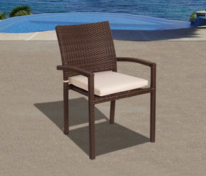 Liberty Armchair Set 4 Pcs Outdoor Dining Chair