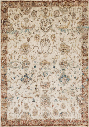Ivory & Whites, Oranges, Rugs, Transitional - Loloi Rugs ANASAF-04AIRU2740 Loloi Anastasia Ant Ivory / Rust Area Rug | 885369251238 | Only $139.00. Buy today at http://www.contemporaryfurniturewarehouse.com