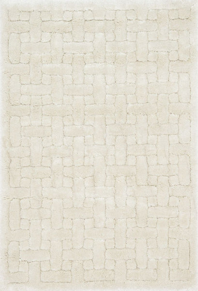 Loloi Dream Shag Ivory Area Rug