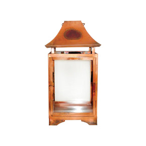 Bali Lantern Burned Copper,clear
