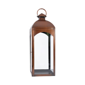 Cooperstown Lantern Antique Copper,clear