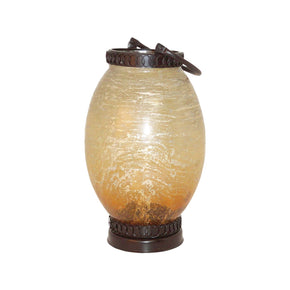 Sunset Lantern - Large Rustic,sunset Artifact