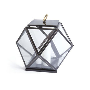 Diamond Glass Lantern
