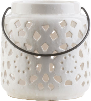 Avery Contemporary Lantern Ivory