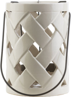 Galilee Contemporary Lantern Ivory