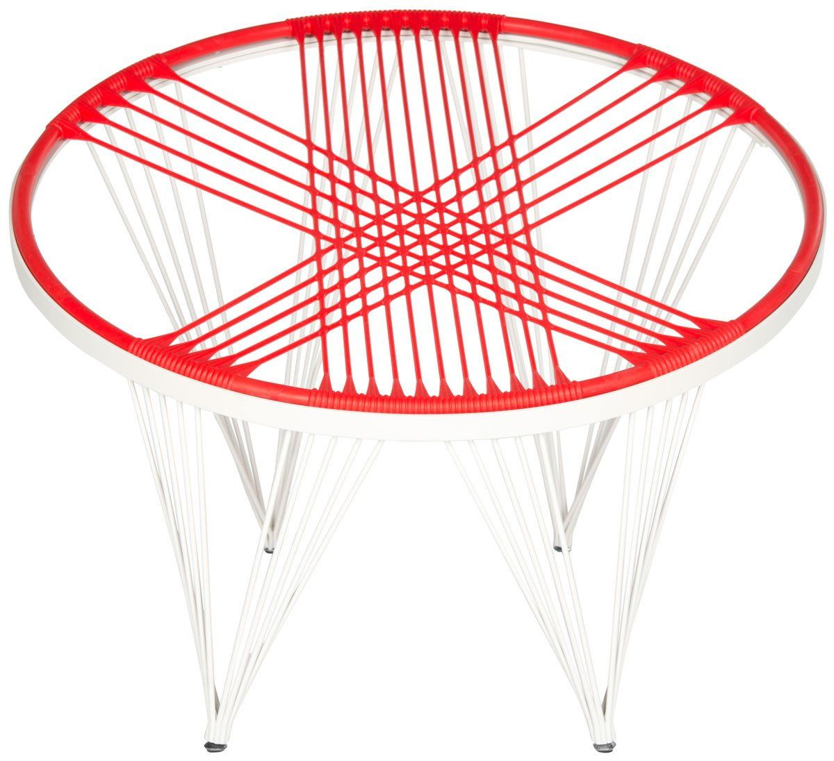 buy safavieh fox9800b launchpad papasan style chair red at contemporary furniture warehouse. Black Bedroom Furniture Sets. Home Design Ideas