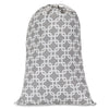 Gray Links Laundry Bag