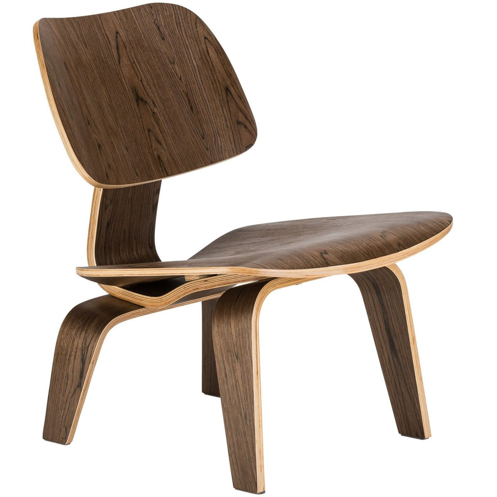 Isabella Lounge Chair In Walnut