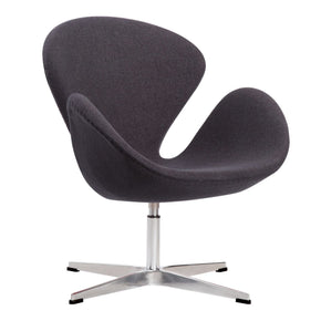 Crux Accent Chair In Dark Grey Lounge