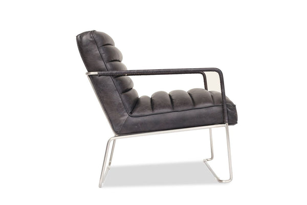 Fine Buy Edloe Finch Ef Z1 Lc001 Kennedy Modern Leather Lounge Chair Slate At Contemporary Furniture Warehouse Cjindustries Chair Design For Home Cjindustriesco