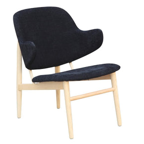 Atel Lounge Chair Black