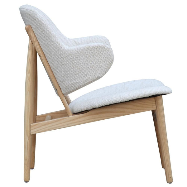 Atel Lounge Chair White