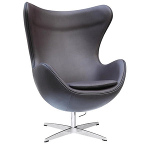 Inner Chair Leather Brown Lounge