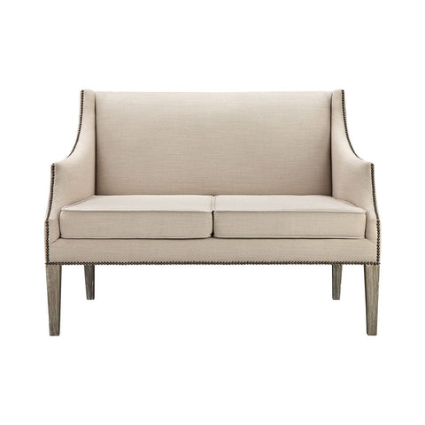 Lenox Hill Sofa Natural Loveseat