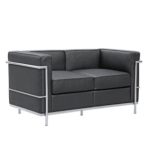 Cube Lc2 Petit Loveseat Black