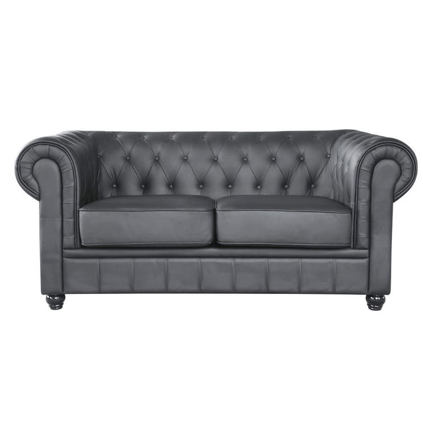 Chestfield Loveseat Black