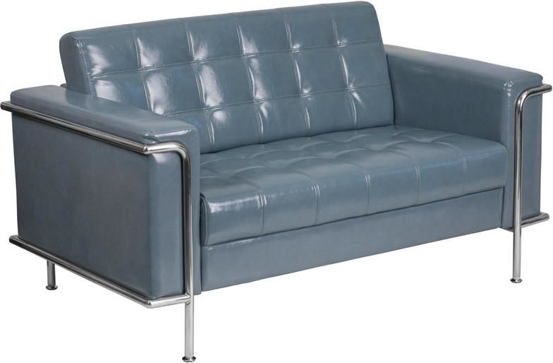 Flash Furniture ZB-LESLEY-8090-LS-GY-GG Lesley Series Contemporary ...