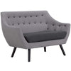 Allegory Loveseat Light Gray
