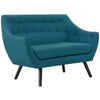 Allegory Loveseat Teal