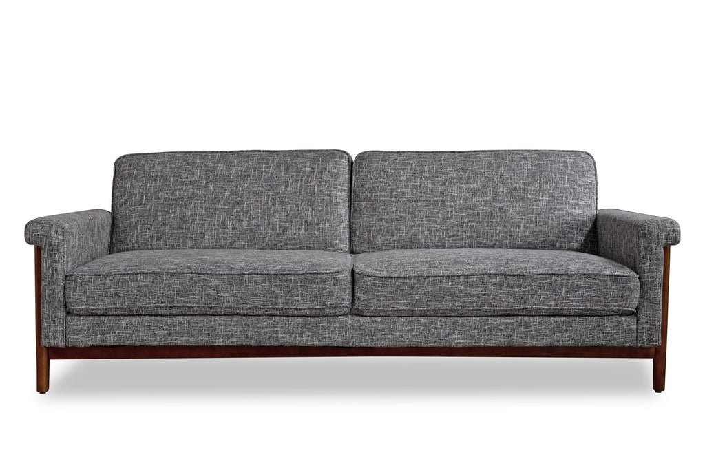 Ashbury Mid-century Modern Sleeper Sofa Charcoal Gray