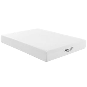 Aveline 10 Queen Mattress White
