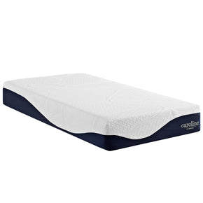 "Mattresses - Modway MOD-5737-WHI Caroline 10"" Twin Memory Foam Mattress 