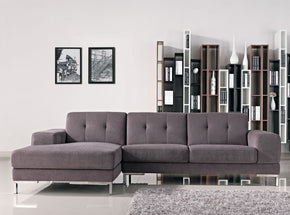 Vig Furniture VGMB1071B Divani Casa Forli - Modern Fabric Sectional Sofa