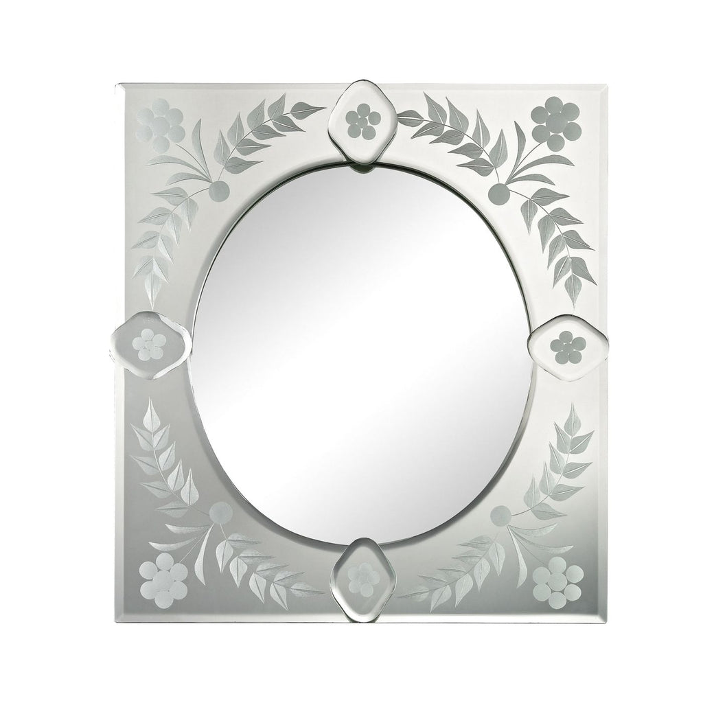Mirrors - Elk Group ELK-1114-155 Small Sqaure Venetian Mirror Clear | 843558139125 | Only $124.00. Buy today at http://www.contemporaryfurniturewarehouse.com