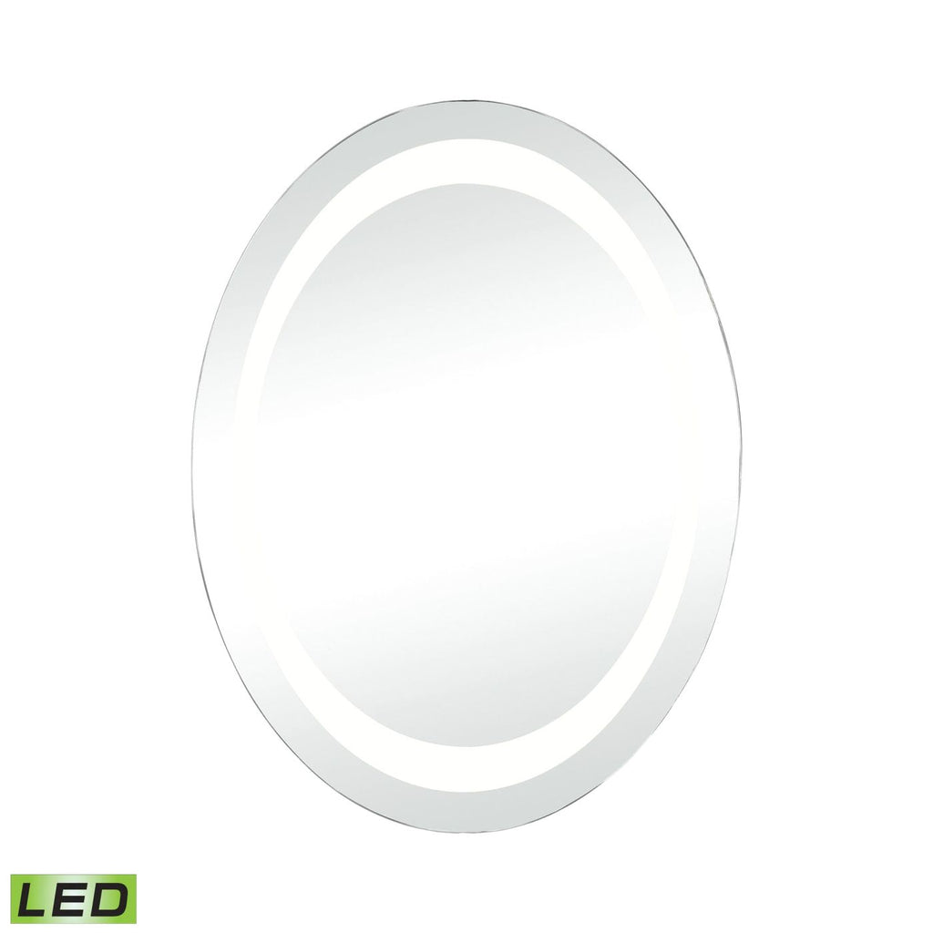 Skorpios Led Round Wall Mirror Clear