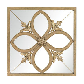 Albern Four Leaf Clover Mirror Gold
