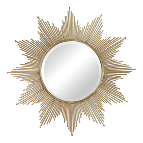 Churchfield Metal Frame Starburst Mirror Gold Leaf