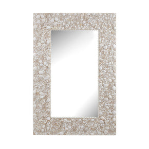Shell Wall Mirror Natural