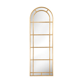 Arched Pier Mirror In Gold Leaf