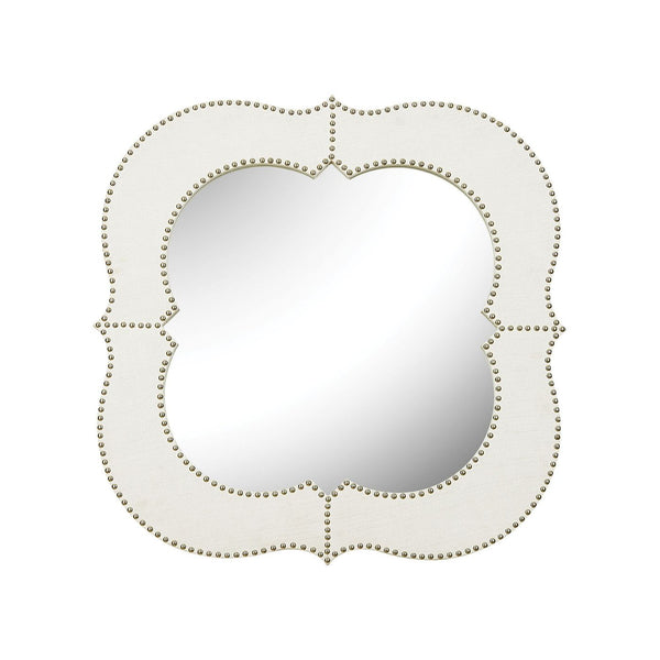 Marie Wall Mirror Wood,natural Linen