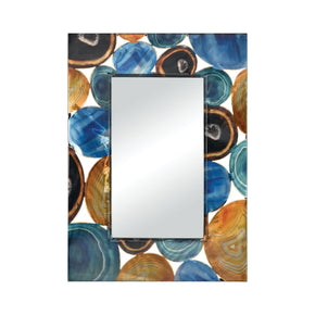 Demetrios Wall Mirror Printed Agate