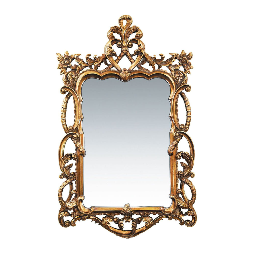 Mirrors - Elk Group ELK-40-1704M Floral Scroll Mirror Gold Leaf | 832740002583 | Only $456.00. Buy today at http://www.contemporaryfurniturewarehouse.com