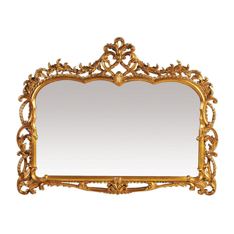 Capetian Mirror Gold Leaf