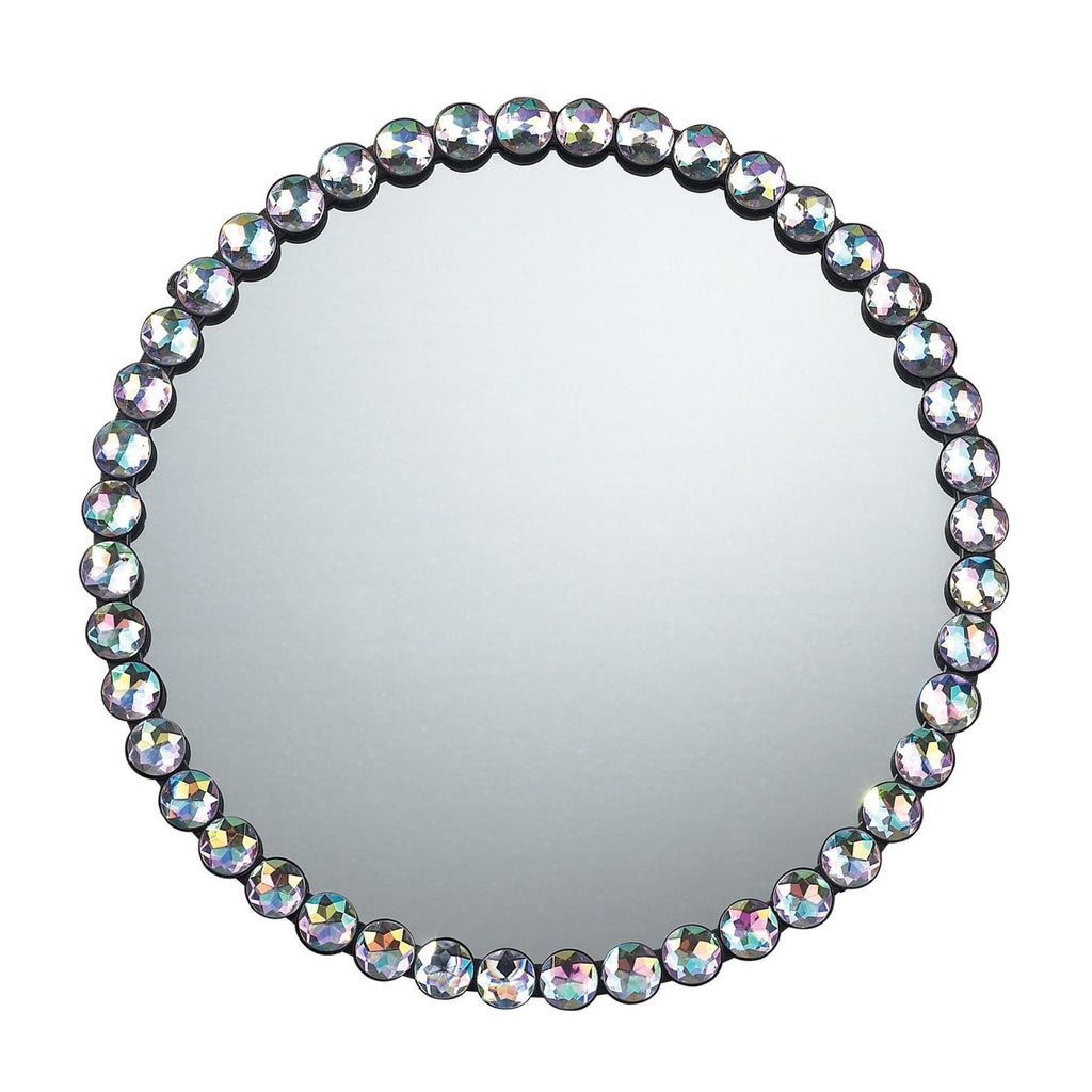 Jewel Edged Mirror Clear