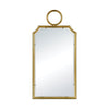 Minos Cusped Wall Mirror Gold Plate